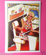 figurines vignettes cromos stickers picture cards figurine barbie 92 panini 1976
