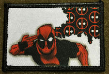 Deadpool Movie Unicorn Morale Patch Tactical ARMY Hook Military USA Badge Flag