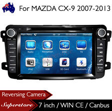 "7"" Car DVD Nav GPS Stereo Head Unit For MAZDA CX-9 2007-2013 support Bose system"