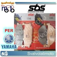 KIT PASTIGLIE SBS ANTERIORI-POSTERIORI YAMAHA T-MAX TMAX 500 2001 170MS-169MS
