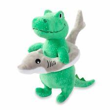 Fringe Studio Plush Squeaker Dog Toy - Shark Week Rex