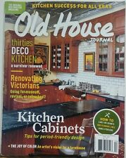 Old House Journal April 2017 Kitchen Cabinets Thirties Deco FREE SHIPPING sb