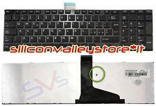 Tastiera ITA 9Z.N7USV.A0E Nero Toshiba Satellite C850, C855, L850, L85 CON FRAME