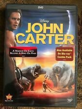 John Carter (DVD, 2012, Canadian French) NEW SEALED