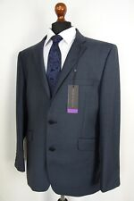 Men's Tom English Navy Tailored Fit Suit 42L W36 L33 VB160