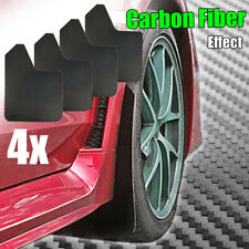 For Subaru Impreza WRX STI Mudguard Mud Flaps Splash Guards Carbon Fiber Effect