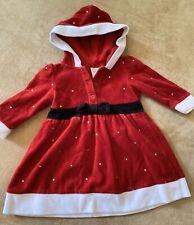 Bebé Niña Navidad Santa Vestido Traje /& Mallas Edad Recién Nacido//0-3 M//3-6 M//6-9 M Nuevo