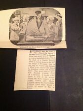 L1-8 Ephemera 1963 Article Atv Tv Once Aboard The Lugger Jonathan Collins Swift
