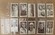 More details for churchman, kings of speed, 1939 - incomplete set (20 cards) in plastic sleeves