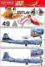 Kits World Decals 1/48 BOEING B-29 SUPERFORTRESS The Outlaw & Celestial Queen
