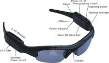 New Sunglasses DVR  Spy Cam Surveillance Sunglasses Security Video Camera Gadget