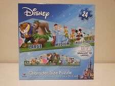 DISNEY Character Size Puzzle - 24 Piece  - Kids / Childrens Learning Educational