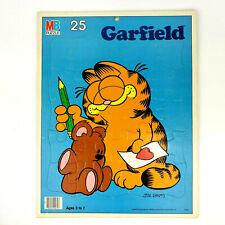 Vintage Garfield Frame Tray Puzzle 25 Pieces Milton Bradley 1978