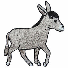 Cute Donkey Mule Horse Pony Animal Cartoon Kids Children Iron-On Patches #A085