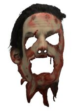 Trick or Treat The Texas Chainsaw Massacre II Mask with Hair Skin Leatherface