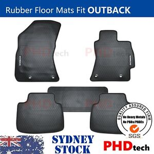 Premium Quality All Weather Rubber Floor Mats to fit Subaru Outback 2015~2020