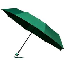 Señoras Minimax Supermini Paraguas Plegable Manual Resistente Al Viento-Verde Esmeralda