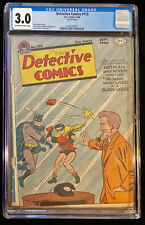 1946 DC Detective Comics #115 CGC 3.0 Off White to White Pages