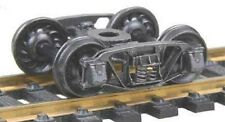 """Kadee HO scale # 509  Andrews 1898 Metal Sprung Trucks ~ 33""""  RP-25 wheels ~"""