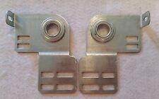 "Pair of Garage Door End Bearing Plates 3-3/8"" Shaft Offset Repair Quality Parts"