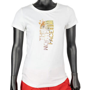 The North Face White Half Dome Tee Ladies TNF Logo T Shirt NF0A2XVC10R