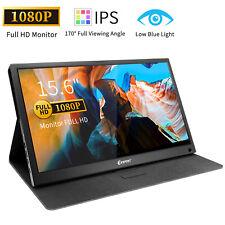"15.6"" Type C Screen Display Portable Monitor 1920x1080P PC Mac Laptop Phone Xbox"