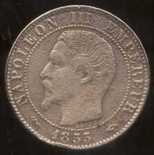 5 centimes NAPOLEON III 1855 A   chien  ( 3 )