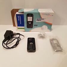 Nokia 6030 - Black (AT&T/Cingular) Cellular Phone Silver faceplate