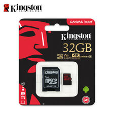 Kingston 32GB Canvas React micro SDHC Memory Card A1 V30 UHS-I U3