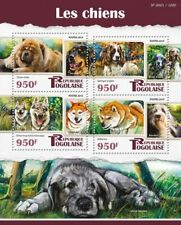 Togo Dogs Stamps 2015 Mnh Chow Chow Hovawart English Setter Springer Dog 1v S/S