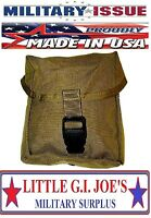 NEW Military Issue Coyote USMC Molle IFAK Individual First Aid Kit Pouch BLK BK