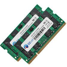 8GB 2Rx8 2x4GB PC2-6400 DDR2-800Mhz 200pin NonEcc SODIMM Laptop Notebook Memory