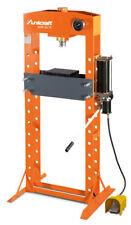 UNICRAFT Werkstattpresse WPP 30 E Hydraulikpresse 30t Handpumpe / Fußschalter