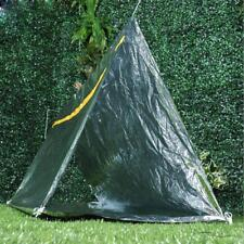 Folding Emergency Tent/Blanket/Sleeping Bag Survival Camping Shelter Simple ED