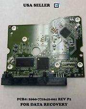 WD WD20EADS, PCB BOARD -771642-001 REV P1, SATA 3.5 Desktop 2TB