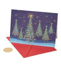 5 boxes Papyrus Christmas Tree  Cards Boxed, Holiday (14-Count) 70 cards total