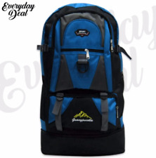 Everyday Deal Ghelo Climbing Hiking Backpack (Blue/Black)
