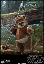 Hot Toys 1/6th scale Wicket Collectib Figure Star Wars Return of the Jedi MMS550