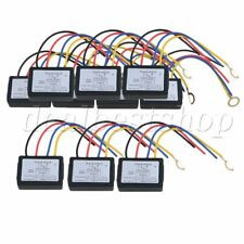 10 x DC 6-12V LED On Off Touch Dimmer Switch for Glass Pottery Cover XD-614