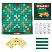 Kids Adult Original Scrabble Board Game Family Learning Educational Puzzle Game