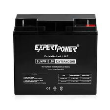 ExpertPower 12Volt 18Amp SLA Universal Deep Cycle Battery replaces 20Ah 22Ah