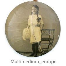 Jugendstil Foto auf Blech um 1910 art nouveau photo metal frame