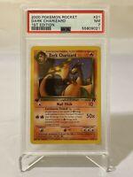 PSA 7 NM 1st Edition Dark Charizard Team Rocket Non-Holo Pokemon Card #21/82