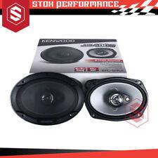 """Kenwood KFC-S6966 6"""" x 9"""" 3-Way 400Watts Peak Coaxial Car Audio Speakers"""