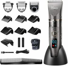 Hatteker Professional Hair Clipper Cordless Clippers Hair Trimmer Beard Shaver