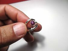 NATURAL TESTED STAR SAPPHIRE RUBY RING