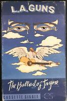 La Guns - The Ballad Of Jane Cassette Single 1991 Polygram