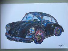 Porsche 911 T Canvas Print. Limited Edition by David Harper-Ex Exhibition piece