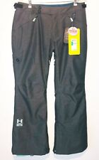 NWT Women's Under Armour UA STORM Coldgear   Ski Pants Heather Gray Size Large