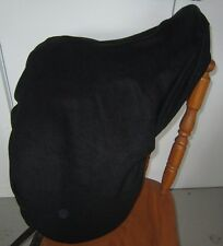 Horse Saddle cover in Black with FREE EMBROIDERY Made in Australia  Protection